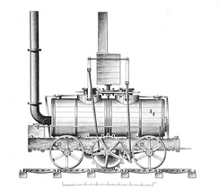 The Salamanca locomotive