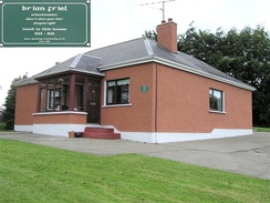The childhood home of Brian Friel, at Omagh in County Tyrone