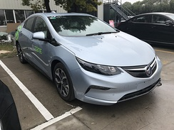 The Buick Velite 5 is a rebadged second generation Chevrolet Volt tailored for the Chinese market.