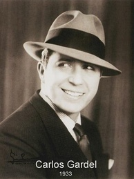 Carlos Gardel, French-Argentine singer and composer, considered the most important tango singer