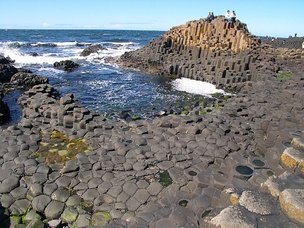 Giant's Causeway in Northern Ireland is an example of a complex emergent structure.