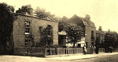 Clarence Place, High Road, c. 1880s
