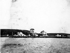 Undated photograph of Sand Point by John Nathan Cobb (died 1930)
