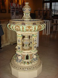 Fountain made in 1877 shown at the Paris International Exhibition 1878
