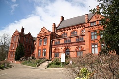 Former Lincoln Christ's Hospital Girls' High School, is now occupied by Lincoln University Training College.