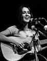 Joan Baez, folk singer, songwriter, musician, and activist[117] whose contemporary folk music often includes songs of protest or social justice.[118]