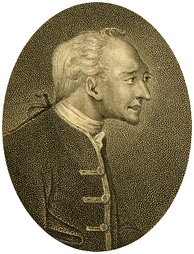 An engraving, in profile of John Elwes