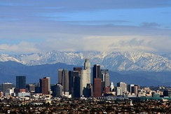 Los Angeles is the second most populous city in the U.S. after New York City