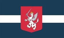 Unofficial flag of Latgale first used in public in 2010[2]
