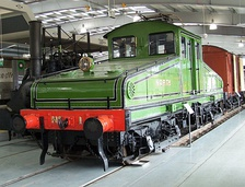A British Rail Class ES1/NER No.1 electric locomotive