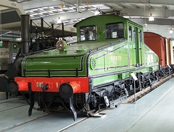 NER No.1, an electric shunting locomotive introduced to the Quayside electrification, now at Locomotion museum, Shildon