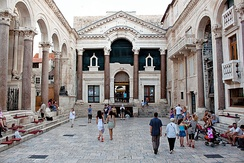 Historical nucleus of Split with the 4th-century Diocletian's Palace was inscribed on the UNESCO list of World Heritage Sites in 1979
