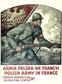 Recruitment poster for Polish Army in France