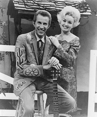 Porter Wagoner and Dolly Parton in 1969
