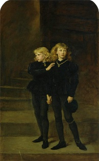 The Two Princes Edward and Richard in the Tower, 1483 by Sir John Everett Millais, 1878