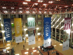In 2012 Wits celebrated the ninetieth anniversary of its upgrade to university status.