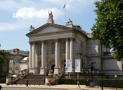 "The original Tate Gallery, now renamed ""Tate Britain"""