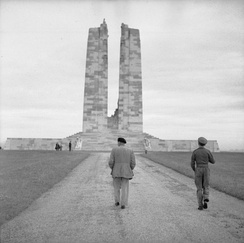 Canadian National Vimy Memorial – For First World War Canadian dead and First World War Canadian missing, presumed dead in France.