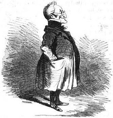 A caricature of Thiers in the National Assembly from the 1850s
