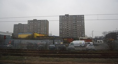 Tower blocks in Doncaster