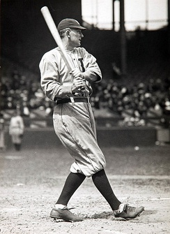 Ty Cobb holds the record for most games played as an outfielder in Major League Baseball history, 2934.[1]