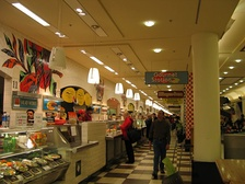 The food court at Union Station in February 2006