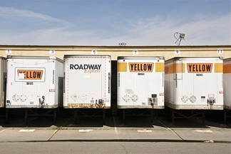 YRC trailers with the vintage Yellow logo in 2010.