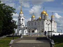 Dormition Cathedral was a venerated model for cathedrals all over Russia