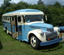1942 Gillig/Chevrolet in use as a tour bus