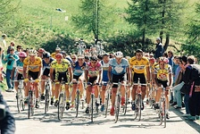 The 1991 Giro d'Italia. The Giro is one of three Grand Tours.