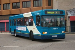 East Lancs bodied Scania L113 in Middlesbrough in May 2009