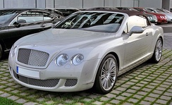 2009 Bentley Continental GTC Speed front view