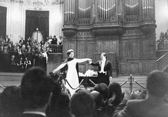 Callas during her final tour in Amsterdam in 1973