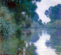 Claude Monet, Branch of the Seine near Giverny, 1897. The Impressionists often, though by no means always, painted en plein air.