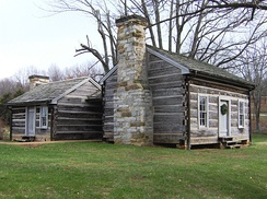 Cordell Hull's boyhood home in Olympus, Tennessee