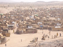 Refugee camp in Darfur (Chad)