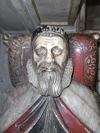Bishop John Still, effigy in Wells Cathedral