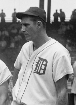 Hall of Famer and 2-time MVP, Hank Greenberg