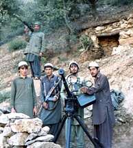 Hezb-i Islami Khalis fighters in the Sultan Valley of Kunar Province, 1987