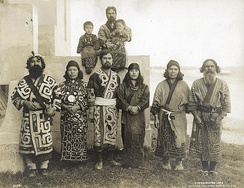 Japanese Ainu group in 1904