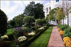 The Kennedy Rose Garden, pioneered by Jaqueline Kennedy
