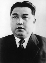 Kim Il-sung, the founder of North Korea