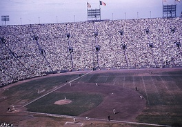 The Coliseum during the 1959 World Series.
