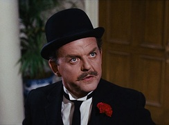 The actor David Tomlinson, seen here in the 1964 film Mary Poppins, was born and raised in the town.