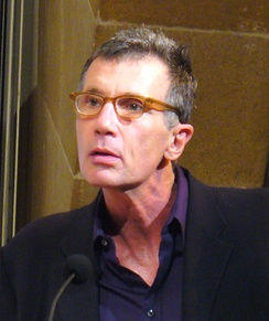 Cunningham reading at a W. H. Auden tribute in New York, 2007