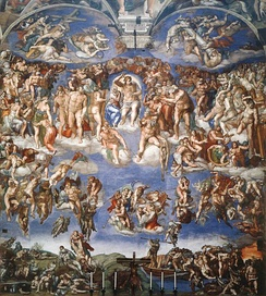 The Last Judgment, by Michelangelo (1541)