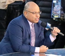 Mike Tirico, NBC Sports' primary studio and Olympics host