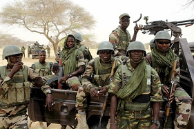 Special forces from Niger prepare to fight Boko Haram