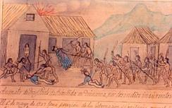 Индейский мятеж, 1709 r.