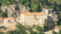 Monastery of Qozhaya in Kadisha Valley, Lebanon, the historical stronghold of the Maronite Church